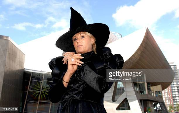 Lorna Luft in character as the Wicked Witch poses during a photocall for The Wizard Of Oz at The Lowry Salford Quays on September 2 2008 in...