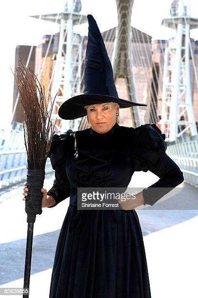 Lorna Luft in character as the Wicked Witch poses during The Wizard of Oz Photocall at The Lowry Salford Quays on September 2 2008 in Manchester...