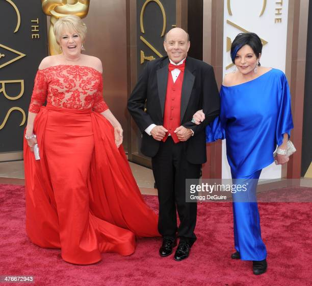 Lorna Luft Joey Luft and Liza Minnelli arrive at the 86th Annual Academy Awards at Hollywood Highland Center on March 2 2014 in Hollywood California
