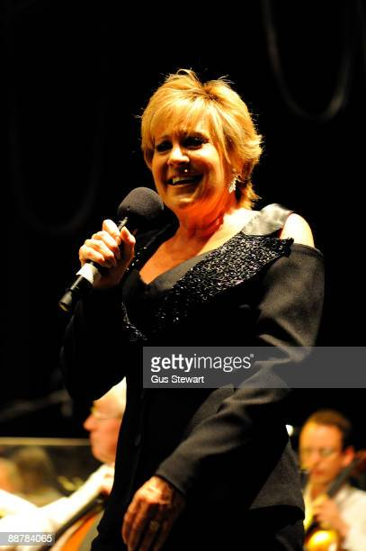 Lorna Luft performs at a show celebrating the life and music of Judy Garland on stage for BBC Radio 2 at The Mermaid Theatre on July 1 2009 in London...
