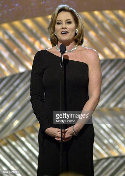 Lorna Luft presents at the AFI Awards 2001 at the Beverly Hills Hotel in Beverly Hills California January 5 2002