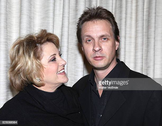 Lorna Luft with husband Colin Freeman attending the press reception for Songs My Mother Taught Me The Judy Garland Songbook at Feinsteins in New York...