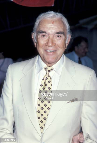 Lorne Green during Canadian Tribute to the Statue of Liberty July 1 1986 at South Street Seaport in New York City New York United States