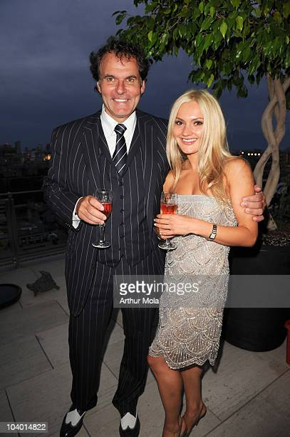 Lorne Leibel and Anna Dorosh attend the Fonda Tribute during the 35th Toronto International Film Festival at 155 Cumberland on September 11 2010 in...