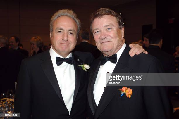 Lorne Michaels and Steve Kroft during 40th Anniversary of Syracuse University's SI Newhouse School of Public Communication May 3 2005 at Mandarin...