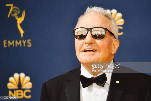 Lorne Michaels arrives at the 70th Emmy Awards on September 17 2018 in Los Angeles California