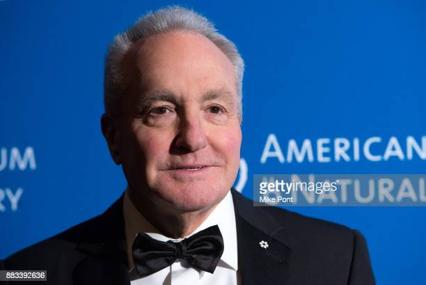 Lorne Michaels attends the 2017 American Museum of Natural History Museum Gala at the American Museum of Natural History on November 30 2017 in New...