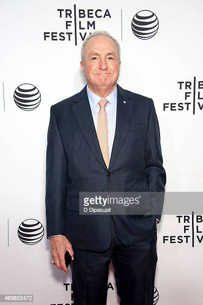 Lorne Michaels attends the world premiere of Live From New York during the 2015 Tribeca Film Festival at The Beacon Theatre on April 15 2015 in New...