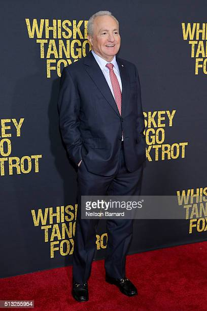 Lorne Michaels attends the World Premiere of the Paramount Pictures title Whiskey Tango Foxtrot on March 1 2016 at AMC Loews Lincoln Square in New...