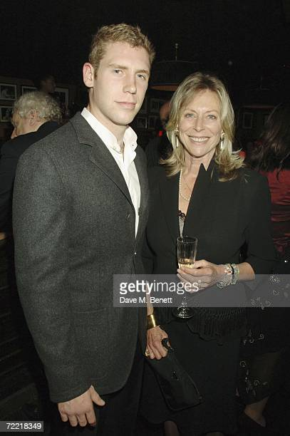 Lorraine Ashton attends Bill Wyman's 70th birthday party at Ronnie Scotts Jazz club on October 18 2006 in London England