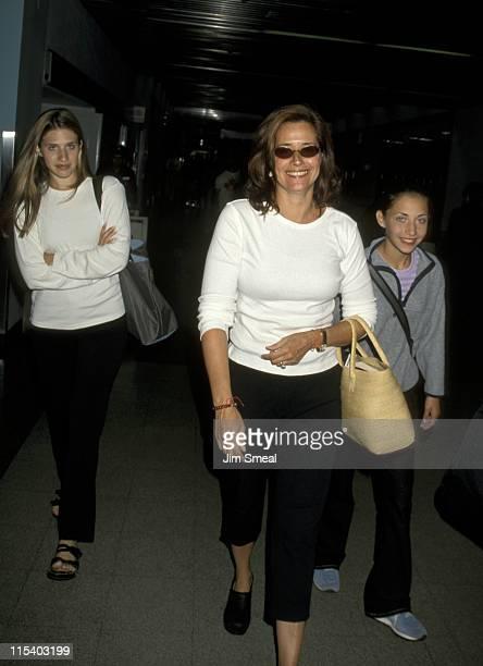 Lorraine Bracco and Daughters Margaux Guerard and Stella Keitel