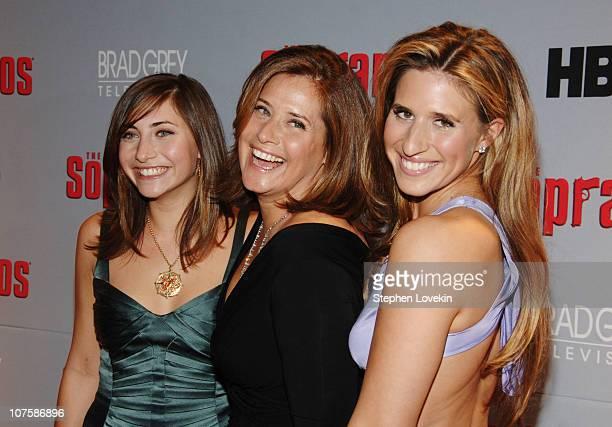 Lorraine Bracco and daughters Stella Keitel and Margaux Guerard