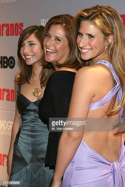 Lorraine Bracco and Daughters Stella Keitel and Margo Geruard