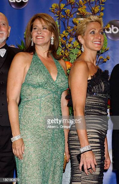 Lorraine Bracco and Edie Falco cast of Outstanding Drama Series 'The Sopranos'