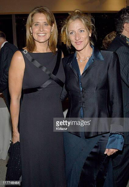 Lorraine Bracco and Edie Falco during Central Park Conservancy hosts 150th Anniversary of the Park at Mandarin Oriental Hotel in New York City New...