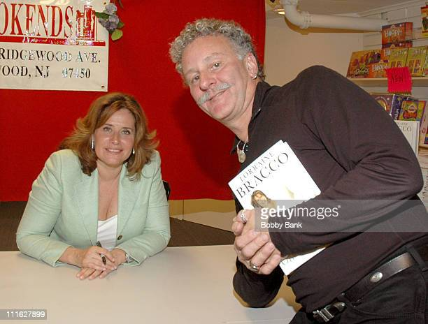 """Lorraine Bracco and fan during Lorraine Bracco Signs Her Book """"On the Couch"""" at Bookends - June 7, 2006 at Bookends in Ridgewood, New Jersey, United..."""