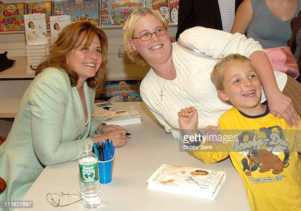"""Lorraine Bracco and fans during Lorraine Bracco Signs Her Book """"On the Couch"""" at Bookends - June 7, 2006 at Bookends in Ridgewood, New Jersey, United..."""