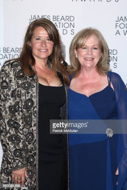 Lorraine Bracco and Susan Ungaro attend The 2009 JAMES BEARD FOUNDATION AWARDS at Avery Fisher Hall at Lincoln Center on May 4 2009 in New York City