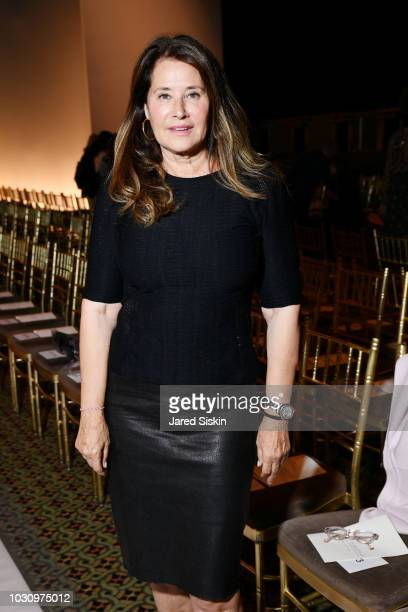 Lorraine Bracco attends the Dennis Basso Spring/Summer 2019 Collection Runway Show during New York Fashion Week at Cipriani 42nd Street on September...