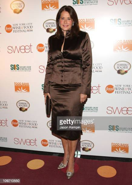 Lorraine Bracco attends the Ferrero SWEET Event at 'The Waterfront' on November 16 2007 in New York City