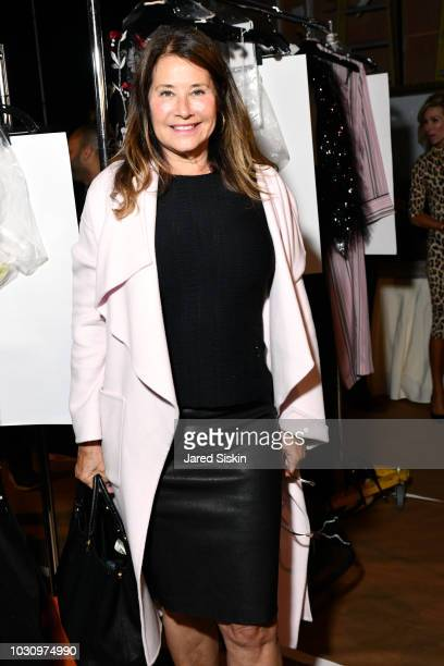 Lorraine Bracco backstage at the Dennis Basso Spring/Summer 2019 Collection Runway Show during New York Fashion Week at Cipriani 42nd Street on...