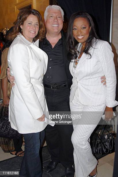 Lorraine Bracco Dennis Basso and Star Jones Reynolds