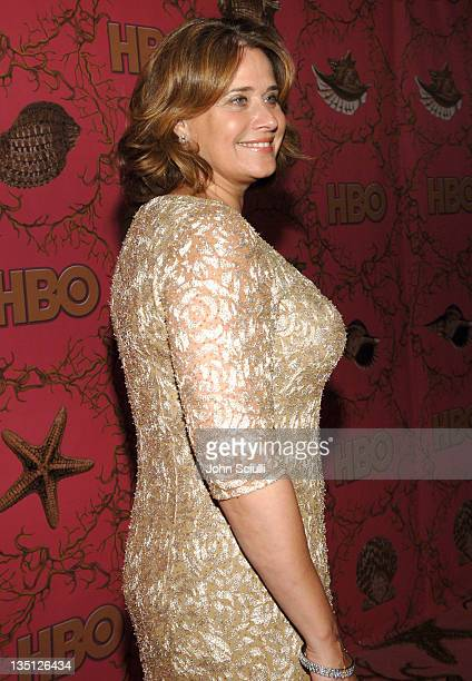 Lorraine Bracco during 58th Annual Primetime Emmy Awards HBO After Party Red Carpet and Inside at Pacific Design Center in West Hollywood California...
