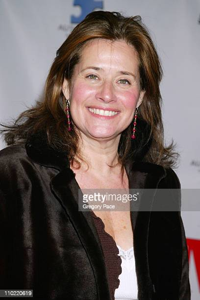 Lorraine Bracco during Comedy Love Call Benefiting Autism Education and Research Inside Arrivals at Beacon Theater in New York City New York United...