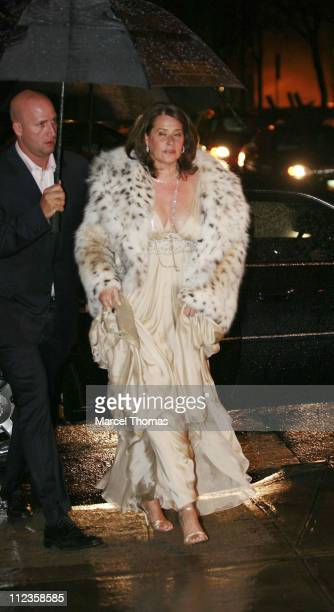 Lorraine Bracco during Elton John's 60th Birthday Party at St John the Divine Church in New York City New York United States