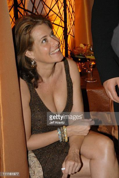 Lorraine Bracco during HBO Screen Actors Guild Party at Spago in Beverly Hills CA United States