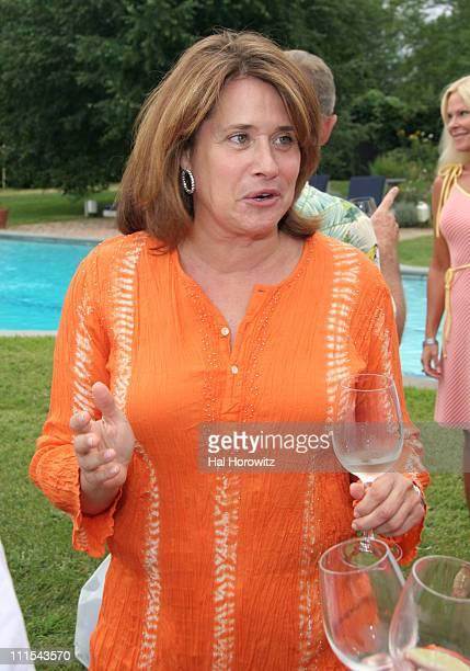 Lorraine Bracco during Lorraine Bracco's Wine Tasting Event - August 19, 2006 at 468 Butter Lane in Bridgehampton, New York, United States.