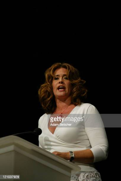 Lorraine Bracco during Starkey Foundation Gala 2005 at River Centre in St Paul Minnesota United States