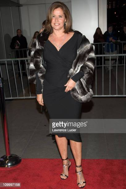 Lorraine Bracco during The Sopranos Sixth Season New York City Premiere Outside Arrivals at Museum of Modern Art in New York City New York United...