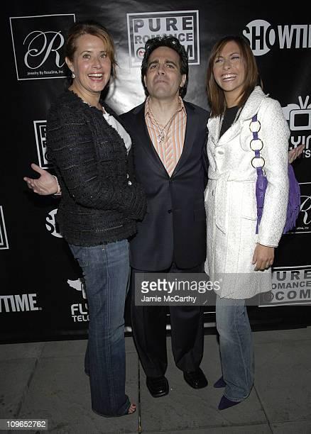 Lorraine Bracco Mario Cantone and Stella Bracco during PureRomancecom and Jewelry by Rosalina Present Kim Cattrall's Party for Mario Cantone's Laugh...