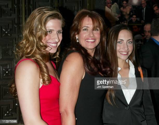 Lorraine Bracco with daughters Margo Stella