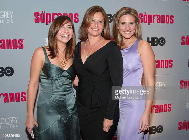 Lorraine Bracco with Daughters Stella Keitel and Margaux Guerard