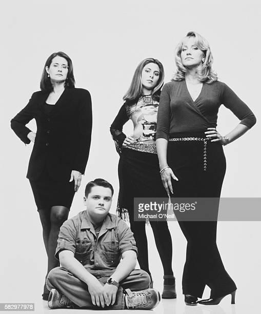 Lorraine Bracco with JamieLynn Sigler Robert Iler and Edie Falco
