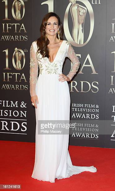 Lorraine Keane attends the Irish Film and Television Awards at the Convention Centre Dublin on February 9 2013 in Dublin Ireland