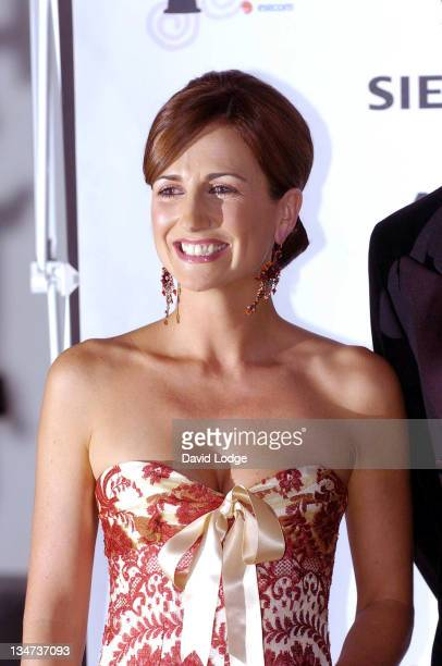 Lorraine Keane during The Irish Film and Television Awards 2004 - Pressroom at The Burlington Hotel in Dublin, Ireland.