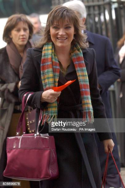 Lorraine Kelly arrives at the ceremony for the Woman's Own Child of Courage award held at Westminster Abbey in London 28/04/04 Lorraine Kelly who was...