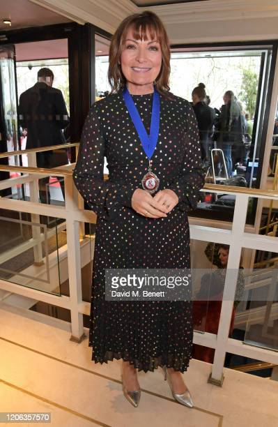 Lorraine Kelly arrives at the TRIC Awards 2020 at The Grosvenor House Hotel on March 10, 2020 in London, England.