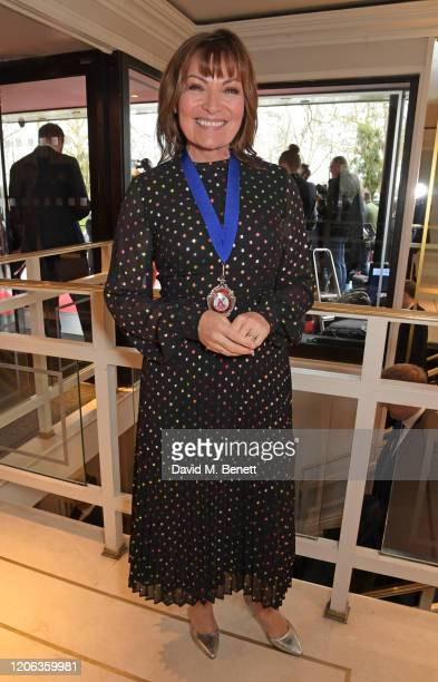 Lorraine Kelly arrives at the TRIC Awards 2020 at The Grosvenor House Hotel on March 10 2020 in London England