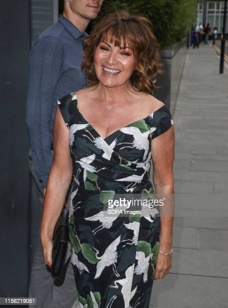 Lorraine Kelly attending the ITV Summer Party 2019 at Nobu Shoreditch in London