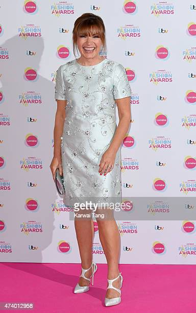 Lorraine Kelly attends Lorraine's High Street Fashion Awards at Grand Connaught Rooms on May 19 2015 in London England