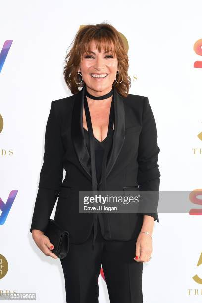 Lorraine Kelly attends the 2019 'TRIC Awards' held at The Grosvenor House Hotel on March 12 2019 in London England