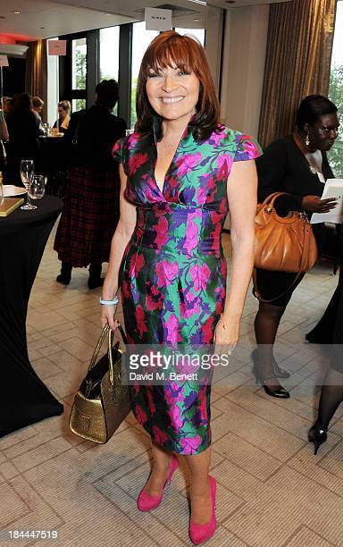 Lorraine Kelly attends the 58th Women of the Year lunch at the InterContinental Park Lane Hotel on October 14 2013 in London England