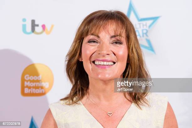 Lorraine Kelly attends the Good Morning Britain Health Star Awards at the Rosewood Hotel on April 24 2017 in London United Kingdom