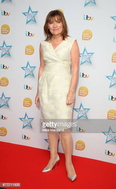 Lorraine Kelly attends the Good Morning Britain Health Star Awards on April 24 2017 in London United Kingdom