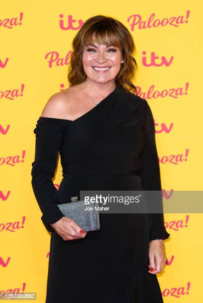 Lorraine Kelly attends the ITV Palooza held at The Royal Festival Hall on October 16 2018 in London England