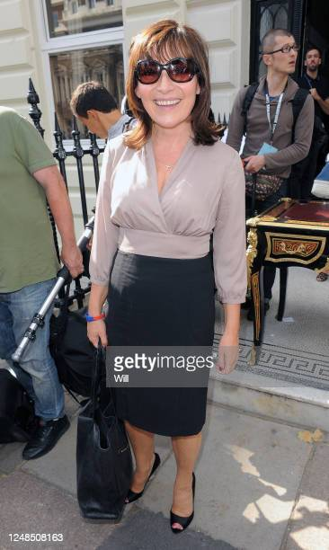 Lorraine Kelly attends the Julien Macdonald show during London Fashion Week Spring/Summer 2012 on September 17 2011 in London England